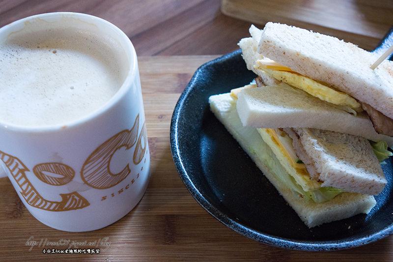 【台北中山區】小鐵鍋早餐-蛋餅.三明治.漢堡.LoCo Food樂口福