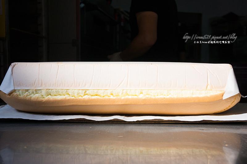 【淡水】金黃起司從蛋糕中流出.源味本舖古早味現烤蛋糕