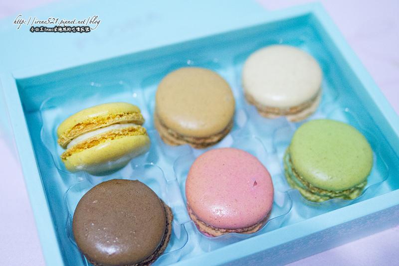 【台北中正區】包裝很適合送禮的精緻.FLORA Choco馬卡龍 @Irene's 食旅.時旅
