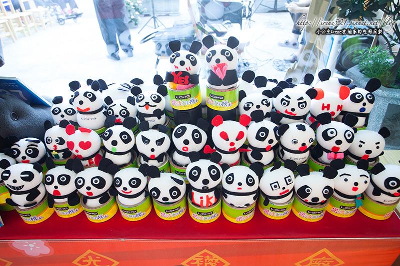 【彰化】貓熊正夯!160種不同表情的圓仔在「樂活觀光襪廠」 @Irene's 食旅.時旅