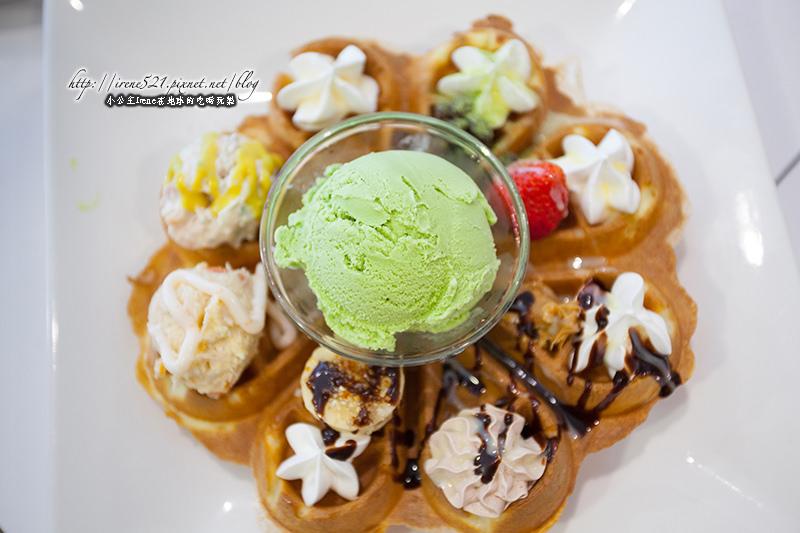 【台北大安區】免掙扎!一次滿足八種驚喜的鬆餅.逗點咖啡 @Irene's 食旅.時旅