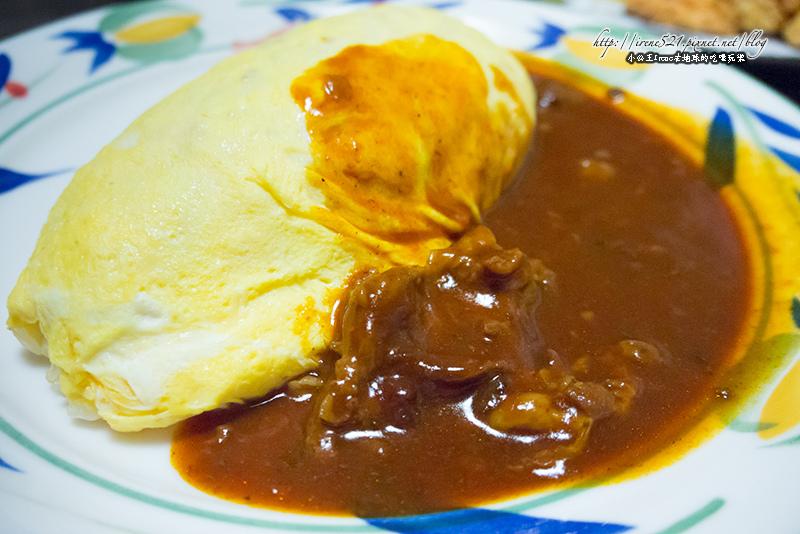 【大阪】將近百年的蛋包飯老舖.オムライスの北極星蛋包飯 @Irene's 食旅.時旅