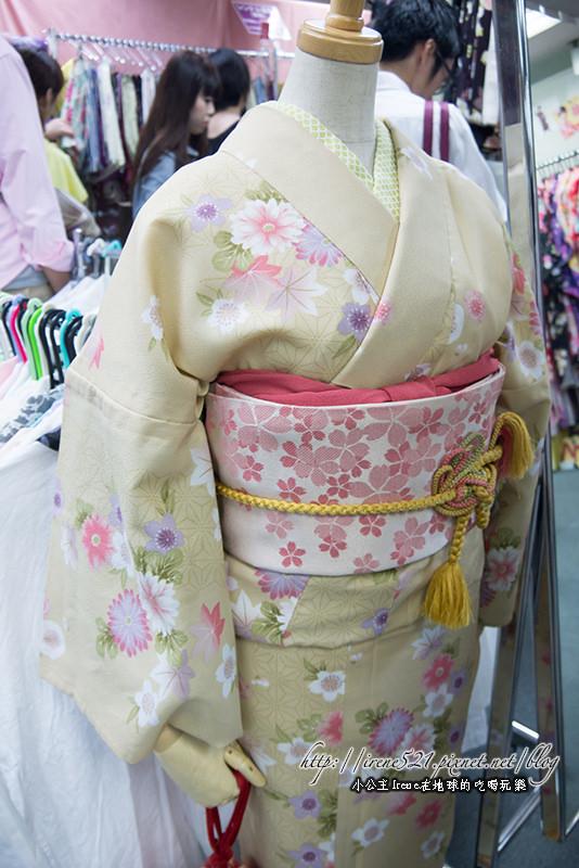 【京都】和服初體驗.到『夢館』變身吧! @Irene's 食旅.時旅