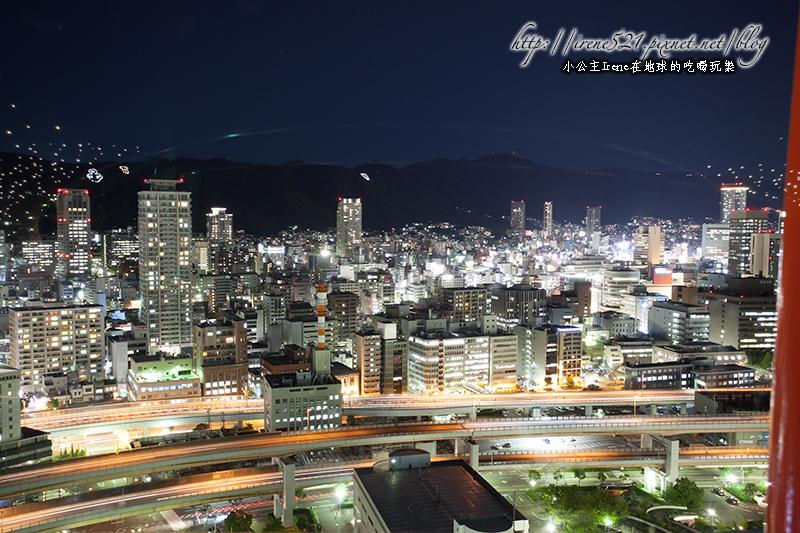 【神戶】唯一管狀結構的觀光塔,俯瞰居高臨下的神戶港景.神戶港塔夜景 @Irene's 食旅.時旅