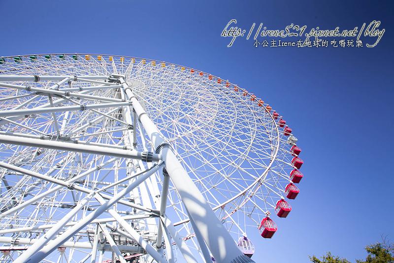 【大阪】曾經是世界上最大、最高的天保山大摩天輪 @Irene's 食旅.時旅