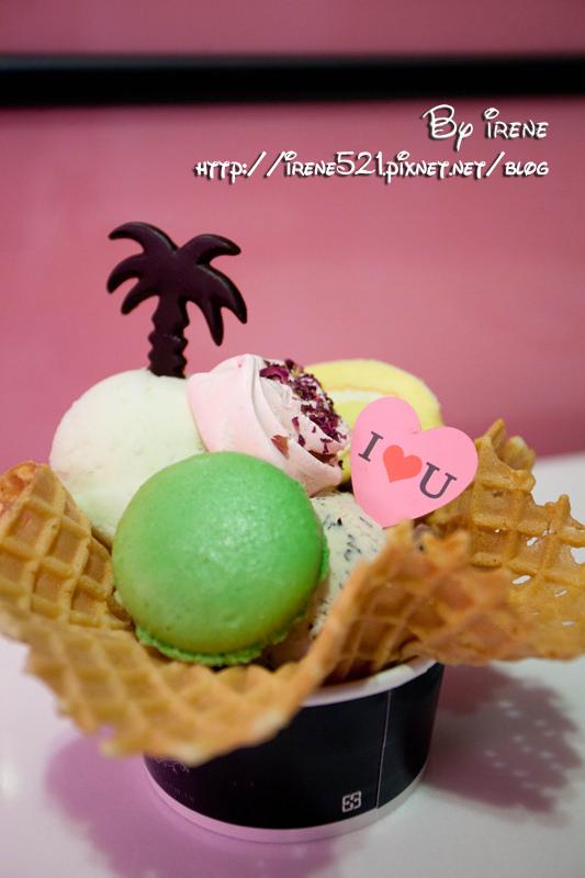 【台北大安區】用冰品傳達心中想說的話.IOU CAFÉ @Irene's 食旅.時旅