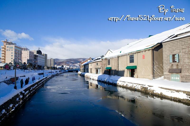 【北海道小遵】充斥浪漫情懷與古蹟建築的小樽運河 @Irene's 食旅.時旅