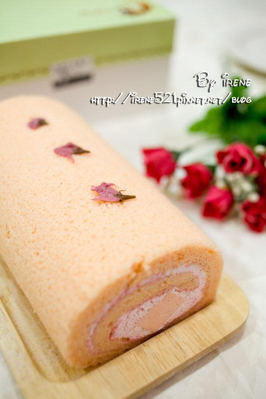 【台中】再次捲入蛋糕的柔與濃.月之戀人 捲蛋糕 @Irene's 食旅.時旅