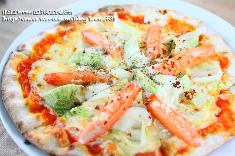 延伸閱讀:【三芝】芝柏山莊內飄香‧pizza olmo柴燒新義式烘焙餐廳