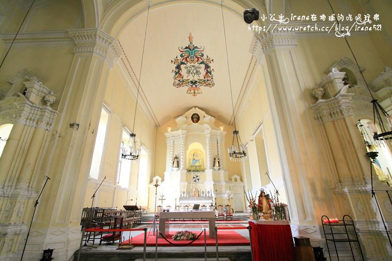 【澳門新馬路】聖物寶殿‧玫瑰聖母教堂 @Irene's 食旅.時旅