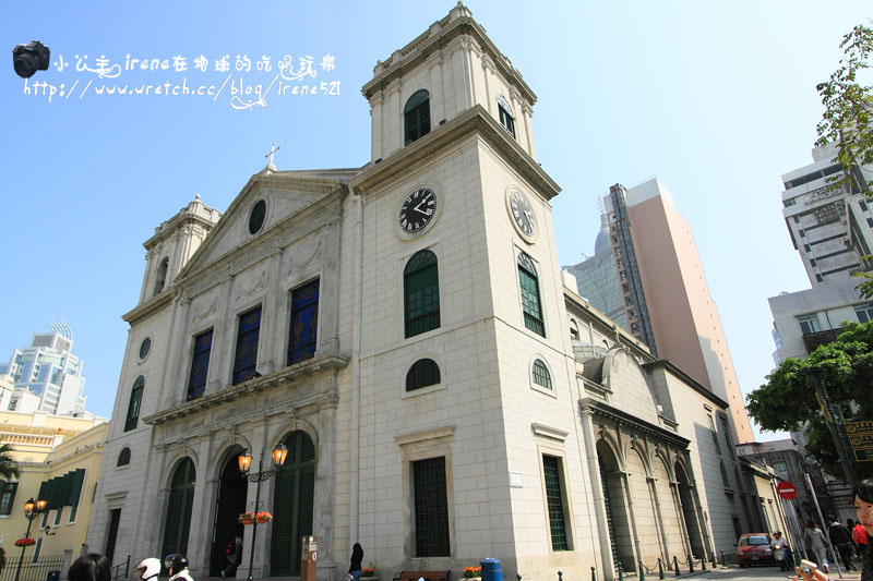 【澳門新馬路】澳門天主教的中樞.主教座堂(大堂) @Irene's 食旅.時旅