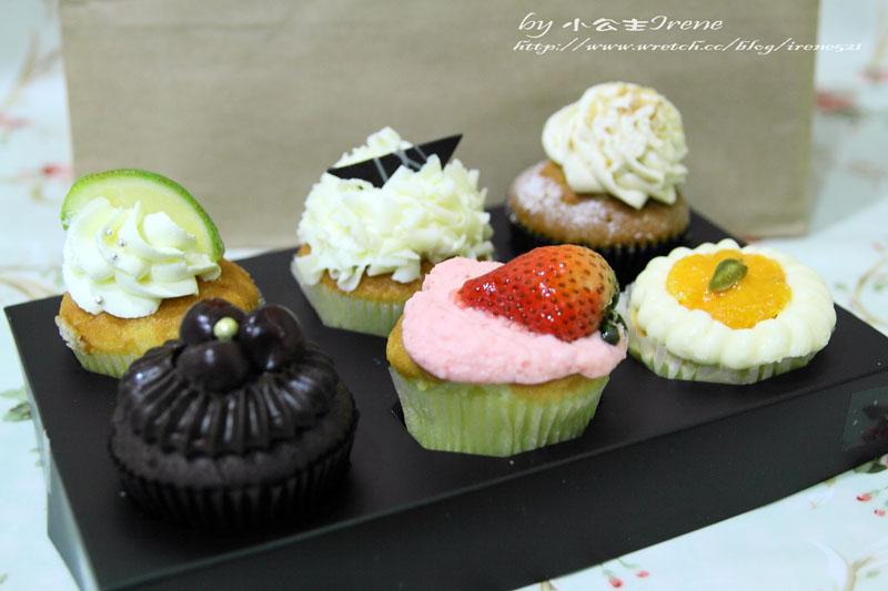 【台北】飛舞的小天使.克勞蒂杯子蛋糕 @Irene's 食旅.時旅