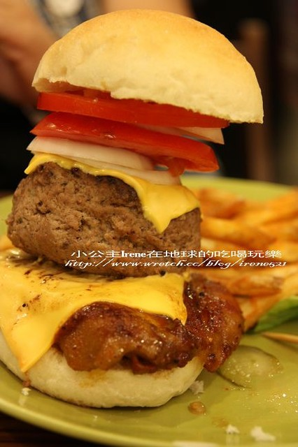 【台北中山區】大口吃漢堡.AN Burger @Irene's 食旅.時旅