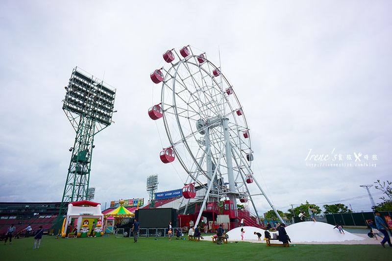 【仙台-景點】大推薦的親子景點/溜小孩的好地方/棒球場內的主題樂園.Smile Glico Park(微笑固力果公園) @Irene's 食旅.時旅