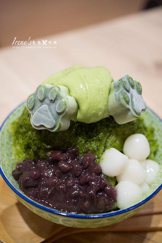 【永和】抹抹柴 Mozamoza.療癒的抹茶柴犬狗掌冰品,還有可愛的日式甜鹹餐包 @Irene's 食旅.時旅