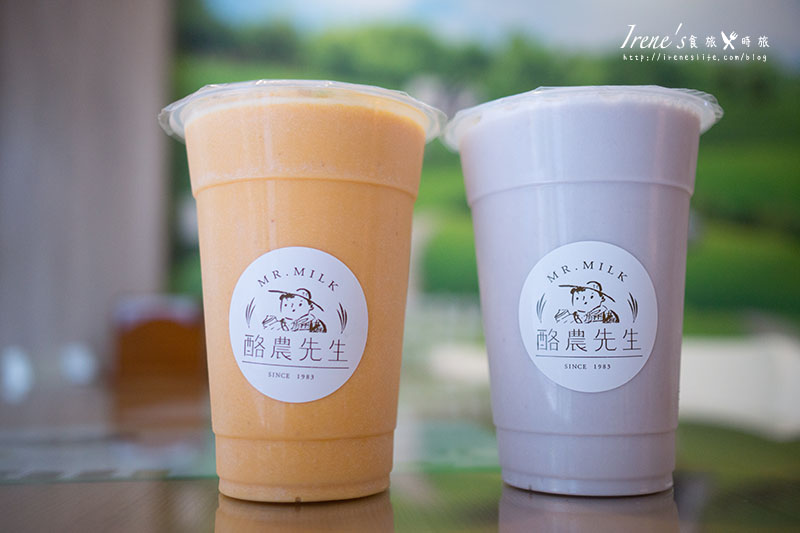 【蘆洲】Mr.Milk 酪農先生.來自台南禾香牧場的鮮奶製品專門店,100%無調整牛奶 @Irene's 食旅.時旅
