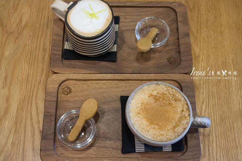 【台北大同區】蜂巢旅店 Garden Cafe.北歐風格咖啡館,來杯咖啡與早午餐吧 @Irene's 食旅.時旅