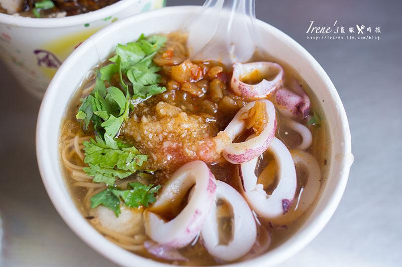 【台南】還在吃小卷米粉嗎?試試小卷麵線吧!海味十足的麵線.誠江號麵線 @Irene's 食旅.時旅