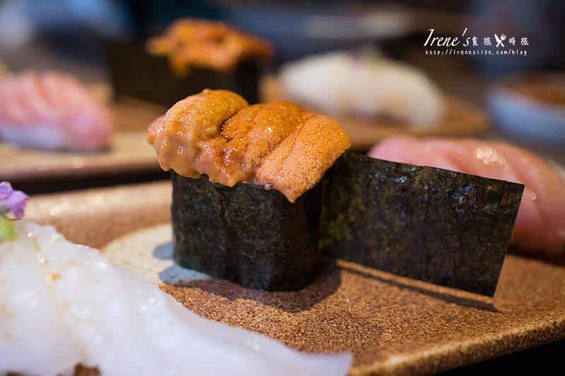 【台北中山區】精緻高品質的無菜單日式料理,道道驚奇.鮨一Sushi ichi @Irene's 食旅.時旅