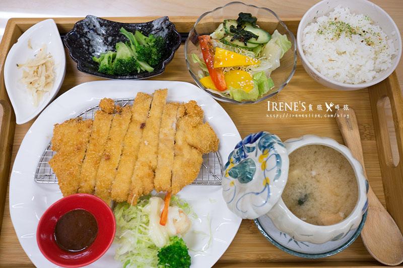 【台南】夢時代旁平價超值的定食人氣店,百元定食哪裡找.小知定食屋 @Irene's 食旅.時旅