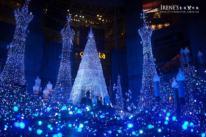 汐留聖誕燈飾