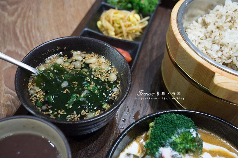 【台北中山區】日式蔬食定食,高質感的素食,日台泰韓義式各國風味通通有.穗科食堂hoshina teishoku