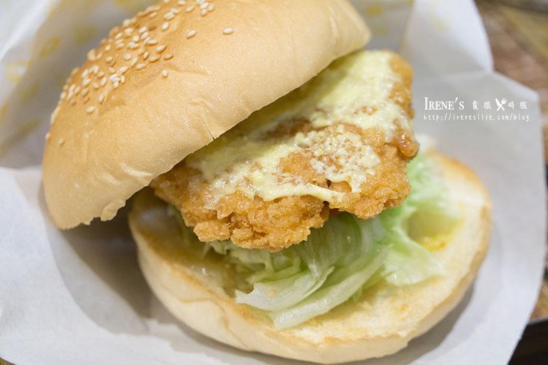 【板橋】巨型黃色販賣機超吸睛,珍珠厚片如土石流般傾瀉.Bee Burger 快樂蜂