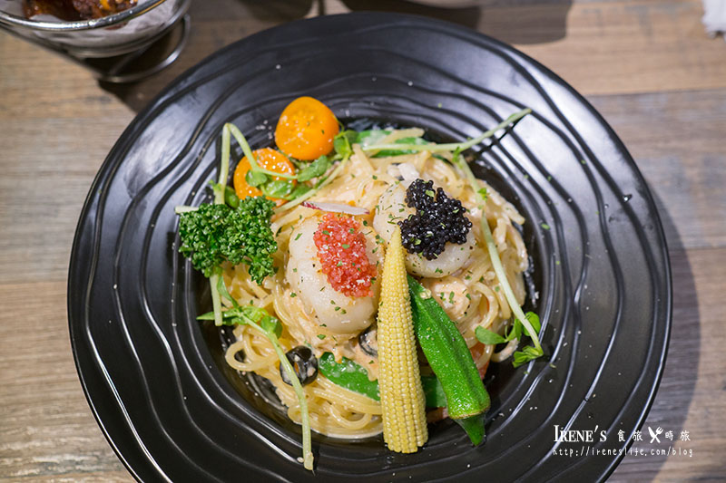 干貝海鮮義大利麵