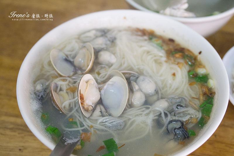 蚵加蛤麵線