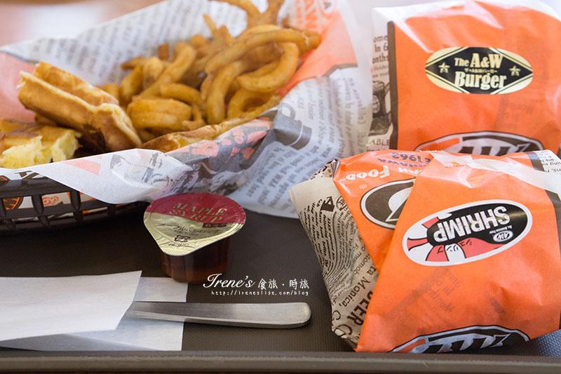 A&W美式漢堡速食餐廳