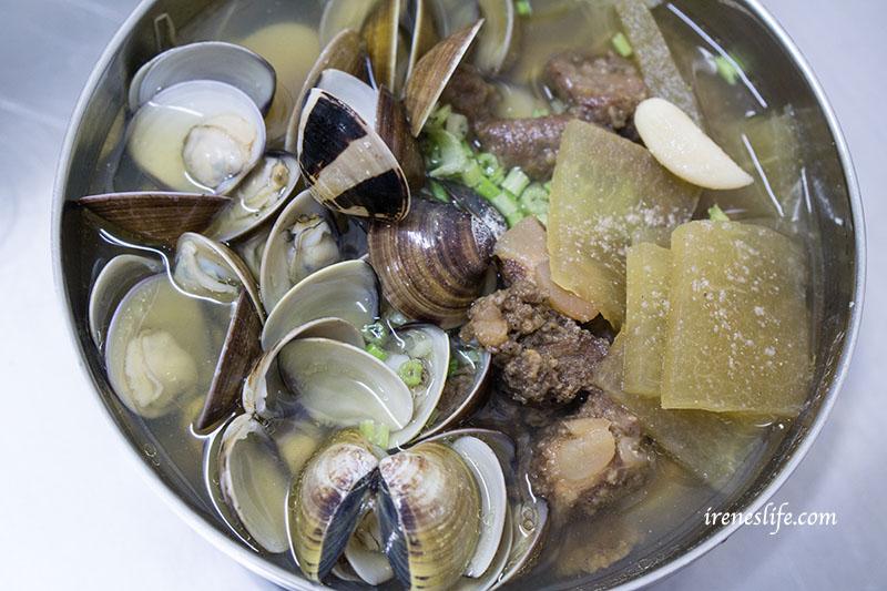 排骨酥蛤蜊麵