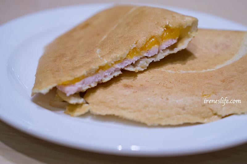 鬆餅三明治