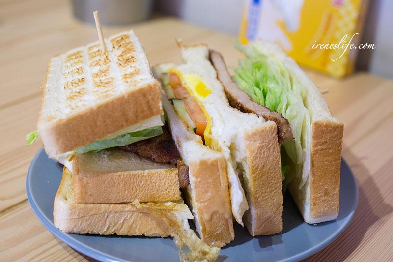 黑豬肉三明治