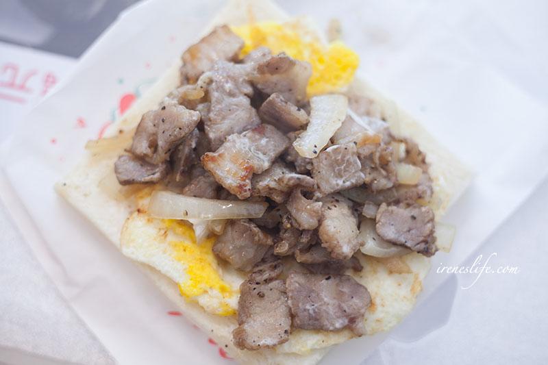 鹹豬肉吐司