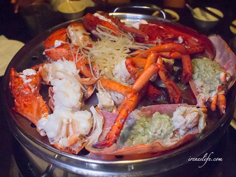 延伸閱讀:【林口】用蒸的海鮮火鍋,自然純粹無負擔,活體龍蝦、生蠔、牛肉黃金粥樣樣都美味.蒸翻天海鮮蒸氣火鍋餐廳