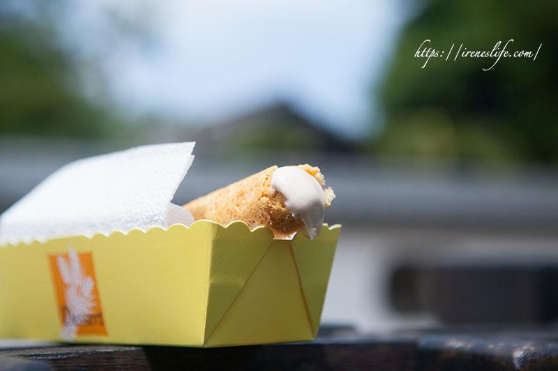 即時熱門文章:【嘉義】知名的蛋捲老店創新思維,蛋捲也能吃冰的!柔滑香濃的芋頭必買必吃.福義軒