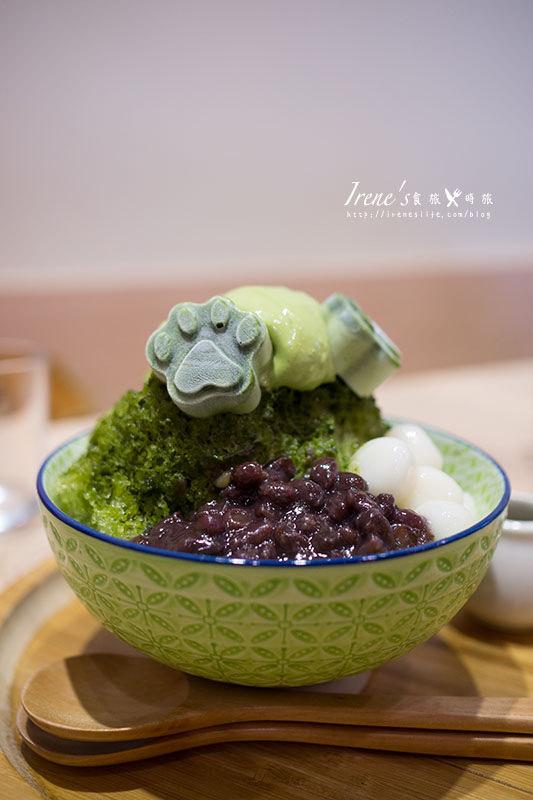 【永和】抹抹柴 Mozamoza.療癒的抹茶柴犬狗掌冰品,還有可愛的日式甜鹹餐包