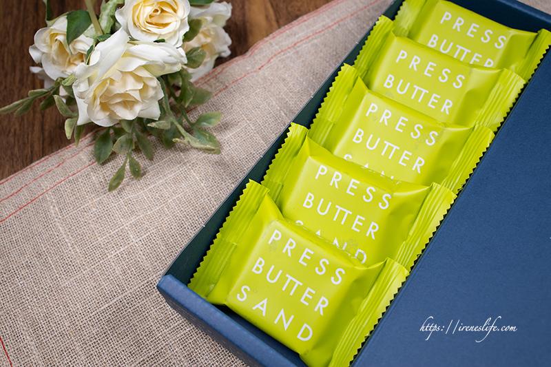 Press Butter Sand焦糖抹茶奶油餅