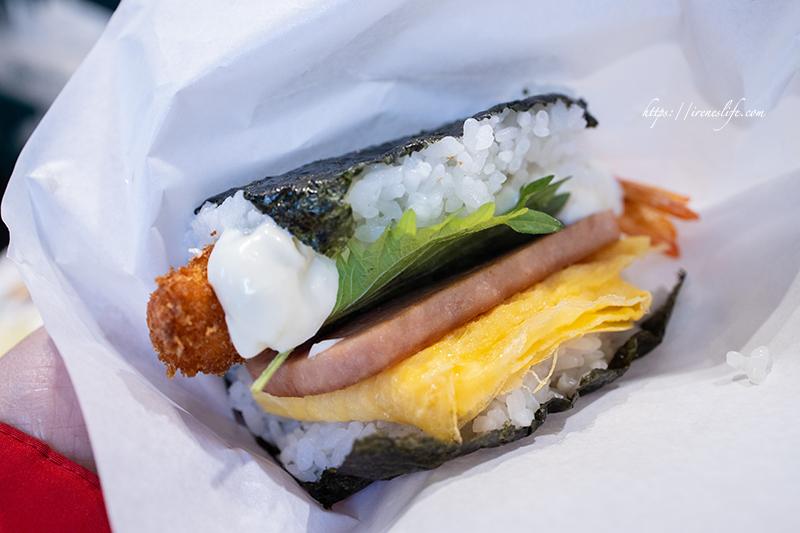 即時熱門文章:【台北士林區】華榮市場內超隱藏日本人開的無名沖繩飯糰.白飯用的是三井料理的越光米!