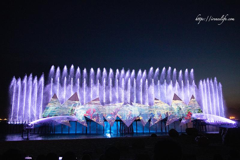 延伸閱讀:【新加坡景點】推薦必看,2019聖淘沙時光之翼Wings of Time,無冷場的燈光水舞秀