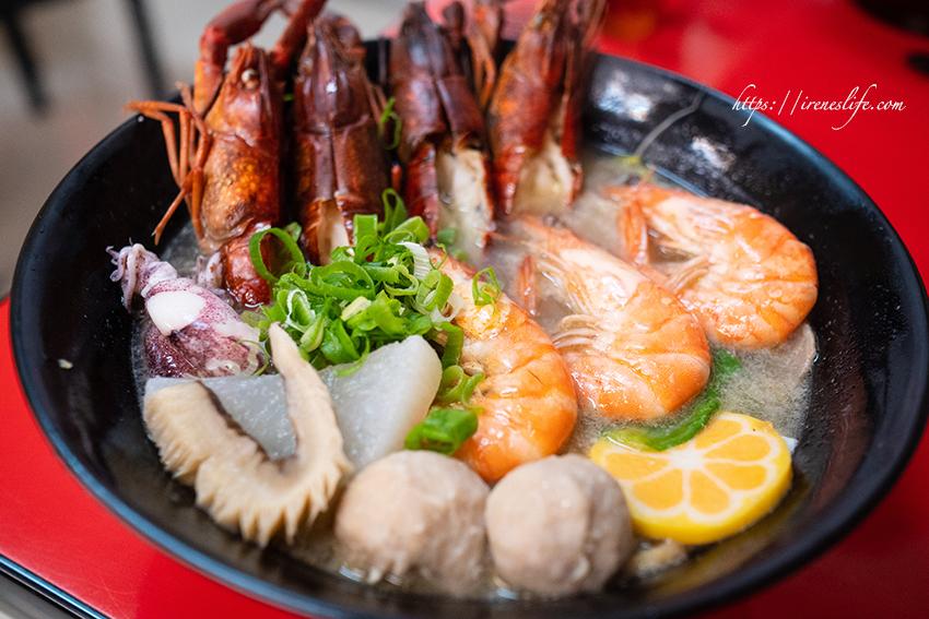 龍蝦鍋燒麵