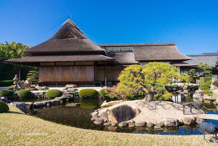 【岡山景點】岡山必去景點,日本三大名園,超美的日式庭園造景,也是人氣賞楓名所.岡山後樂園