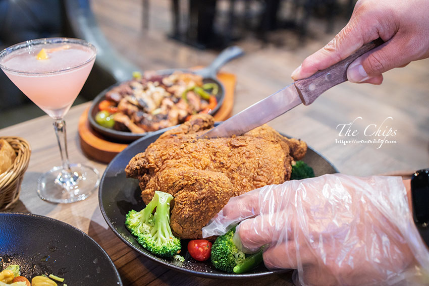 【台北信義區】聚餐推薦、約會推薦,大嗑美式料理觀賞體育賽事.The chips 地表最強美式餐廳