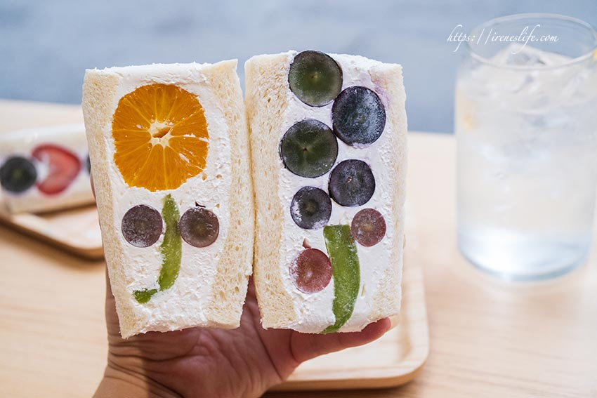 水果花三明治