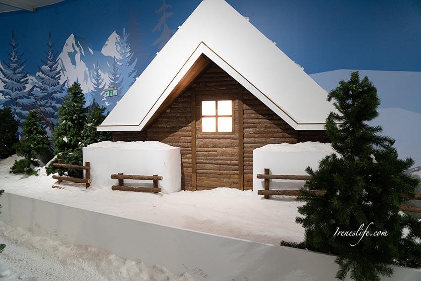 科教館 雪展-下雪了