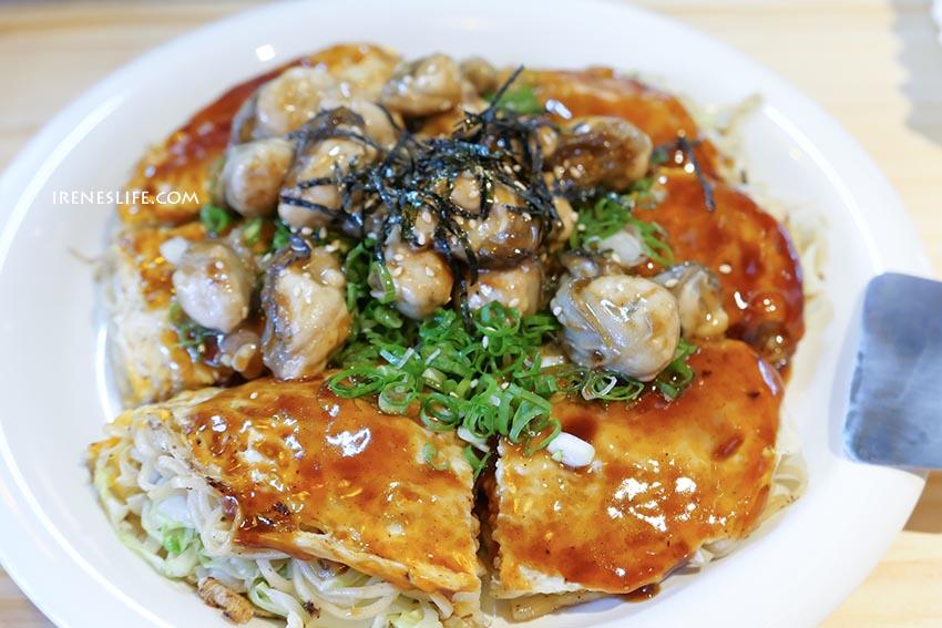 即時熱門文章:【台北中山區】廣島燒專賣 赤鐵,赤峰街美食,日本人開的廣島燒專門店,滿滿牡蠣鋪上去