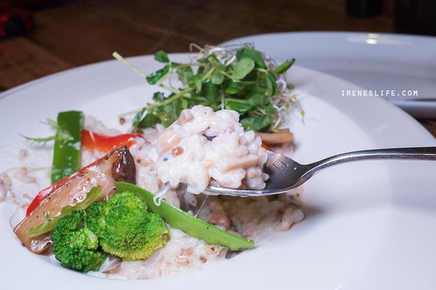 奶油野菇燉飯