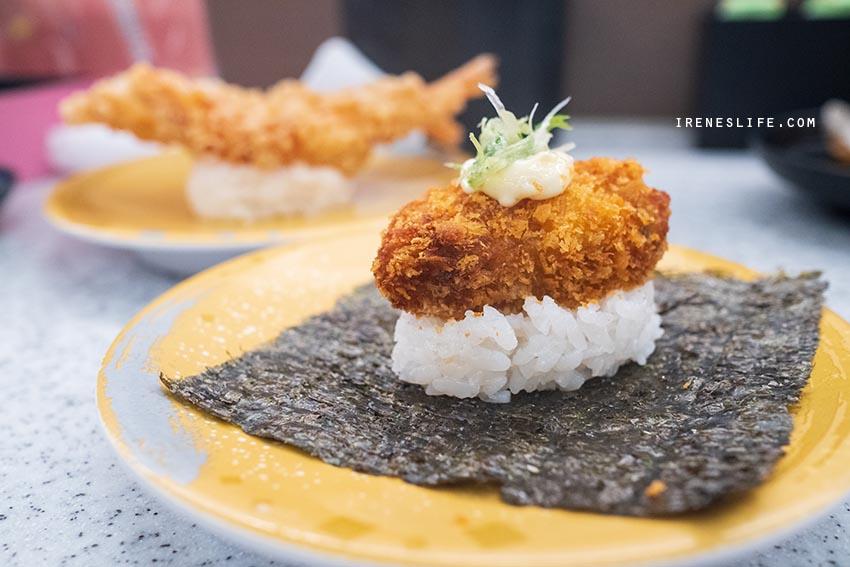 炸牡蠣壽司