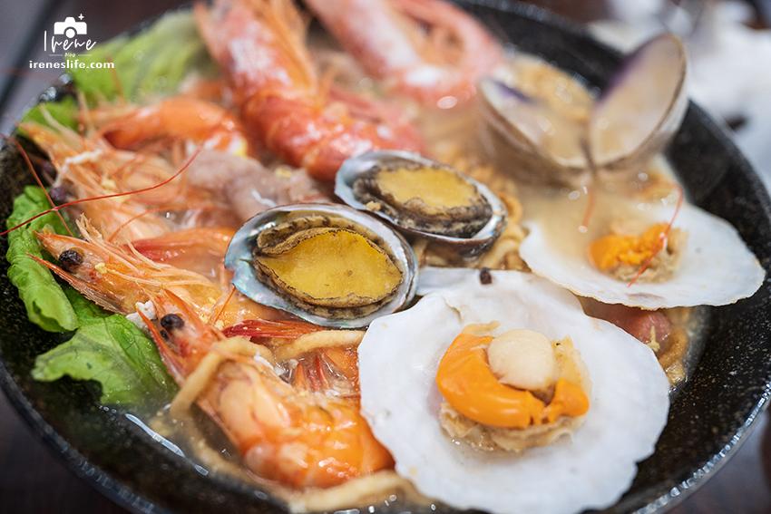 海鮮鍋燒麵