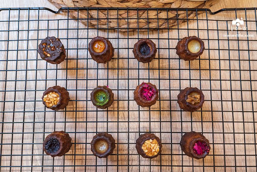 延伸閱讀:防疫期間就在家吃甜點吧!預約制工作室,迷你小巧的可麗露,一次擁有九種不同的口味的可麗露禮盒